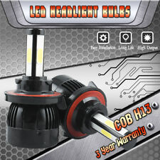 4 Sides H13 9008 LED Headlight Bulbs Kit High/Low Beam for Ford F-150 2004-2014