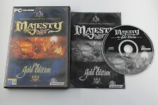 PC MAJESTY THE GOLDEN EDITION COMPLETO PAL ESPAÑA
