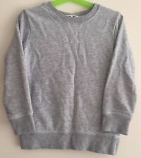Boys Grey H&M Long Sleeved Top Size 5-6 Years