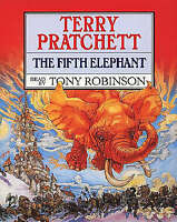 Terry Pratchett The Fifth Elephant Audio Tapes Tony Robinson