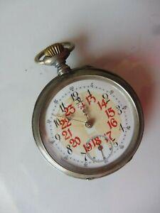 schöne, alte Taschenuhr , Cylider , 800 Silber ,  Urgroßvaters Taschenuhr !
