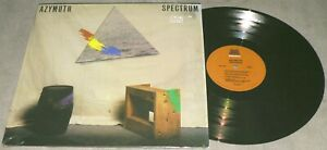 AZYMUTH Spectrum 1985 Milestone M-9134 MPB Latin Jazz Funk Vinyl LP SHRINK