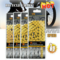 Bicycle Chain 8 9 10 11 Speed Gear MTB Road Hybrid Cycle Links