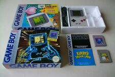 Console Nintendo Gameboy Game Boy Pack Tetris Kirby's Dream Land complet