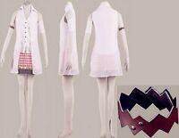Final Fantasy 13 FF13 Serah Farron Cosplay Costume
