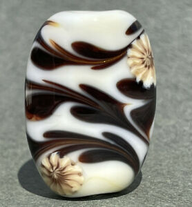 Handmade Lampwork Focal Bead ~  Tumblin'  Tumbleweed ~ By Soul Of Glass SRA