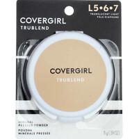 CoverGirl Trublend Mineral Pressed Powder, Translucent Light (L 5-7) .39oz (2pk)