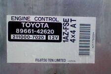 89661-42620 8966142620 TOYOTA 1AZFSE Engine control module