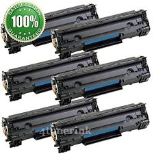 6 Toner Cartridge For Canon 128 (3500B001A) ImageClass D530 D550 MF4770n MF4880