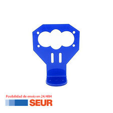 Soporte Acrilico Azul para Modulo HC-SR04 Sensor Distancia Ultrasonidos Arduino