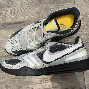 Nike Kobe Mamba Mentality Cracked Pavement 4 AM Size 12 Basketball Shoes