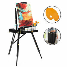 BCP Portable Folding French Style Easel Tripod Stand w/ Drawer, Palette