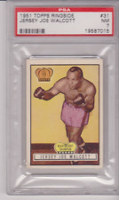 A Beauty-- Topps Ringside # 31 Jersey Joe Walcott  PSA 7 NM Merchantville, N.J.