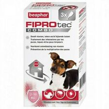 Beaphar Fiprotec Combo Spot on Flea Treatment for SMALL DOGS. 3 x Pipettes