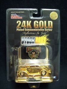 Racing Champions 24 Karet Gold 1940 Ford Limited Edition Nascar.
