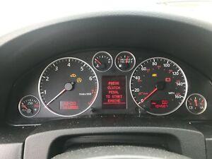 02-05 Audi Allroad Quattro A6 S6 Gauge Cluster Instrument Panel Speedometer OEM