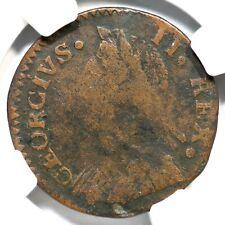 1747 V 1-47A R-5 NGC VG 10 Machin's Mills Colonial Copper Coin