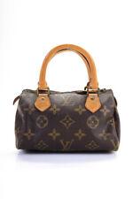 Louis Vuitton женские монограмма быстрое Hl мини сумка через плечо сумка коричневый