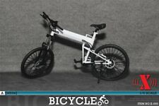 "X-Toys 1:6 Scale Folding Bike (White) for 12"" Figures XT-009A"