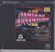FIM/LIM The Great Fantasy Adventure Album Erich Kunzel UltraHD UHD CD New Sealed