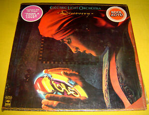 PHILIPPINES:ELECTRIC LIGHT ORCHESTRA - Discovery LP Album,Jeff Lynne,E.L.O.,ELO