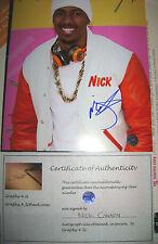 Nick Cannon Signed America's Got Talent Autograph COA
