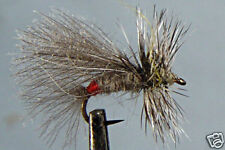 1 x Mouche Sèche Sedge Grizzly H12/14/16/18 fly dry truite trout fishing mosca