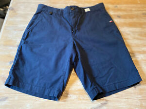 BNWOT Mens Navy Tommy Hilfiger Brooklyn Shorts Size 30W Perfect Condition