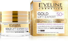 GOLD LIFT EXPERT Luxus Tages- und Nachtcreme-Serum 50+ mit 24k Gold, 50 ml