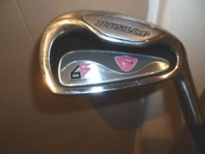 Ladies Dunlop 65 6 iron with graphite shaft