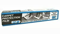"""ZIPUP Carpet Protection Film, 24"""" x 200', Clear, CPF24200"""