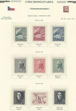 1947 Year Set, Mi. 512 - 528, MNH, Postfrisch **, (17 items)