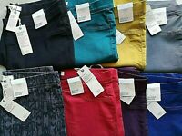 LADIES M&S SIZES 8 10 12 14 16 18 20 OR 22 FLEXIFIT PULL ON JEGGINGS JEANS