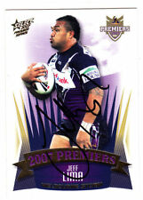 Melbourne Storm 2007 Season NRL & Rugby League Trading Cards