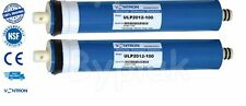 Brand new 2x 100GPD Reverse Osmosis RO Membranes Water Filter