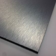 3mm Brushed Silver ACM Sheet 3050 x 1500 10ftx5ft Dibond Aluminium Composite Sig