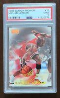 HOF Michael Jordan 1998-99 Skybox Premium #23 PSA 9 MINT Chicago Bulls