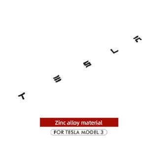Letter Sticker Logo Letters Tail Letter Label Car For Tesla Model 3 X S Y