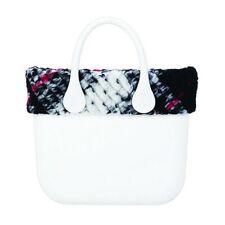 O bag mini bordo tessuto maxi check OBAGT002TESA2