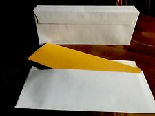 20 Half C4 / A4 Wallet Envelopes White 100gsm Self Seal For Weddings, Leaflets