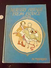 1927 Nursery Friends From France AMAZING Colored Litho Illustrations Art deco!!