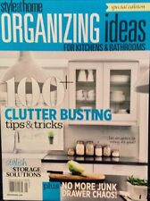 STYLE AT HOME Organizing Ideas Kitchens & Bathrooms 2014 storage FREE SHIPPING