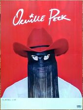 ORVILLE PECK Pony 2019 Ltd Ed HUGE RARE Tour Poster +FREE Folk Country Poster!