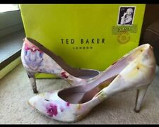 Ted Baker~Floral Multicolored Shoes Heels~Size UK6