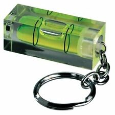 Miniature Spirit Level Keyring  -  Handy Fun Gadget   /  Novelty Gift Idea