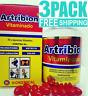 3 pack ARTRIBION ortiga CURCUMA ARTHRITIS join pain 30 SOFTGEL ARTICULACIONES