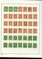 Hungary 1946 Album Page Of Stamps #V3588