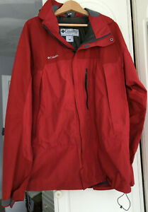 COLUMBIA Mens TITANIUM Sports wear Size XL Waterproof GORE-TEX Paclite Jacket