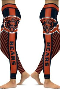 Chicago Bears Small to 2X-Large Women's Leggings New 2020