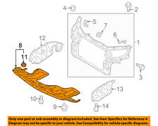 KIA OEM 11-13 Sorento Splash Shield-Underbody Under Engine Cover 291101U200